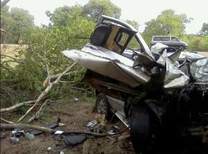 Adam Ndovu and Peter Ndlovu horror crash car