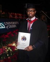 Jusa Dementor graduates from university