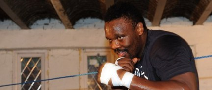 Dereck Chisora on the comeback