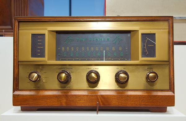 Fisher 500 radio
