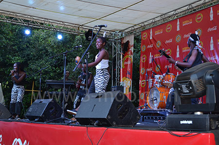 Were on stage at HIFA 2014
