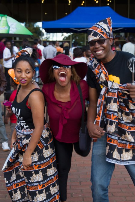 See who joined Ammara Brown and Q at teh Celebrity Cook-off at Rainbow Towers food Fest