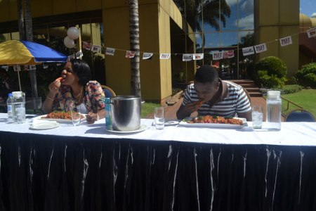 Chilli contest featuring Dj Chilli at Rainbow Towers food Fest