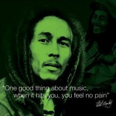 Bob Marley quotes - artwork by WS Mark Henry