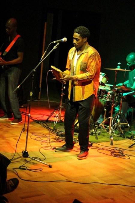 Victor Kunonga kicks off performance at launch of his album Kwedu -  PIC: Ngoma Nehosho