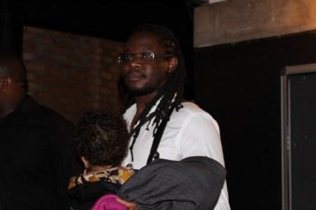 Mokoomba manager Marcus Gora at the Victor Kunonga album launch -  PIC :Ngoma Nehosho