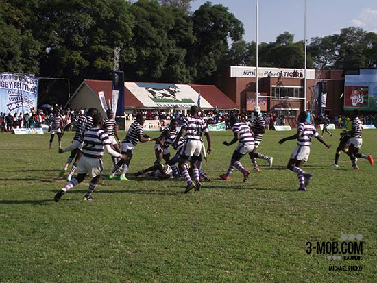 Churchill v PE grudge match at Dairibord Schools Rugby Festival