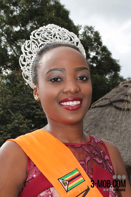 The new Miss World Zimbabwe Annie-Grace Mutambu
