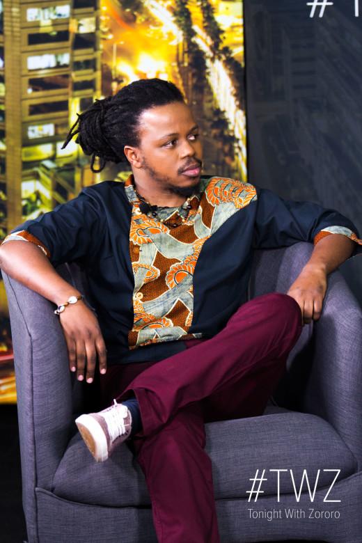 Larry Kwirirayi on Tonight With Zororo