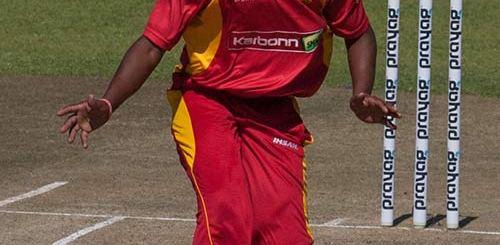 Neville Madziva - PIC: Zimbabwe Cricket