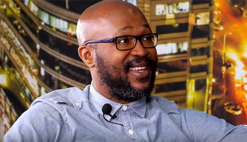Carl Joshua Ncube on Tonight With Zororo - PIC: Screengrab