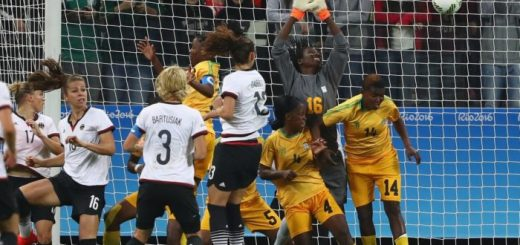 Mighty Warriors concede first goal PIC: Fifa Women's World Cup Twitter