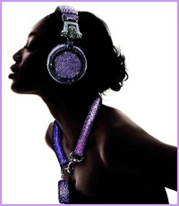 black and shinning dj profile