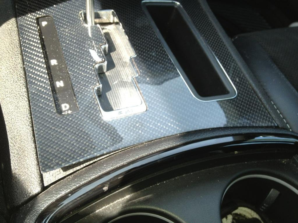 Carbon Fiber Trim Is Coming Unglued Chrysler 300C Forum