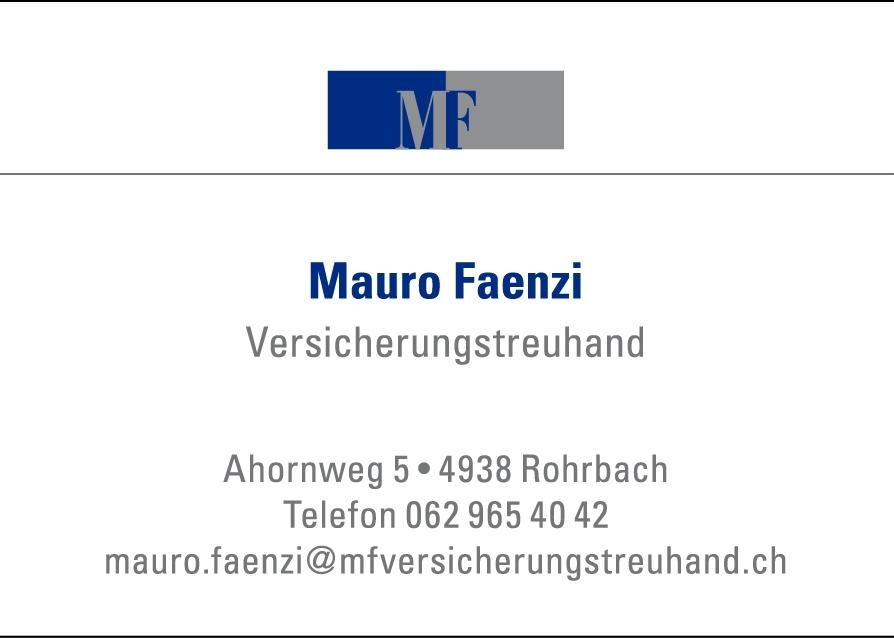 Mauro Faenzi Versicherungstreuhand