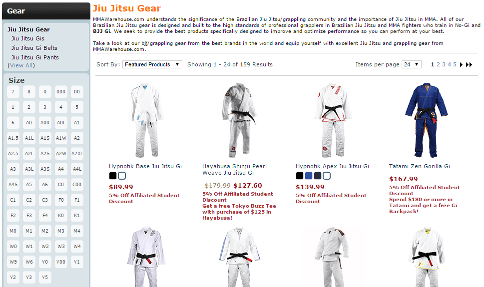 Shop MMA Warehouse with 302BJJ