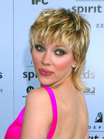 Scarlett Johansson et sa coupe mulet en 2003
