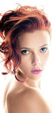 Scarlett Johansson rousse incendiaire