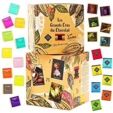 Calendrier de l'avent Grands Chocolatiers 2020 pour femme adulte gourmande qui aime les chocolats