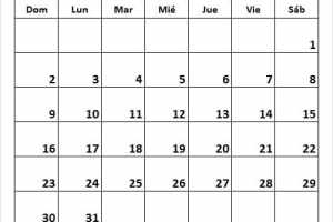 Calendario Bomberos Mayo 2021