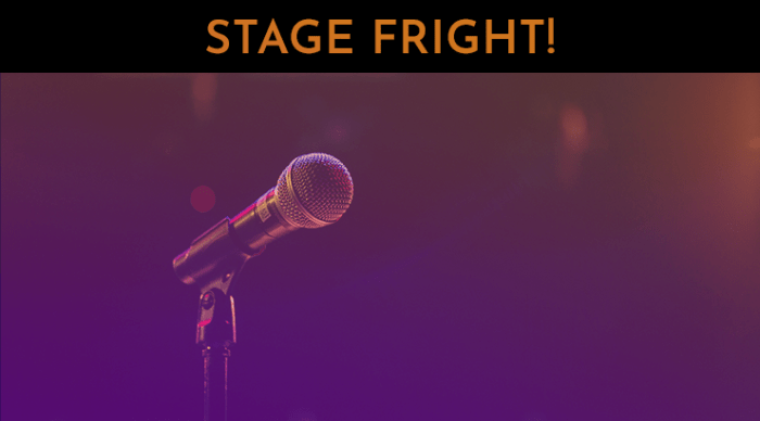 stage fright 30 day singer