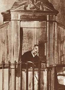 Padre Pio al confessionale