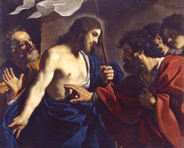 <I>L'incredulità di san Tommaso</I>, Giovan Francesco Barbieri, detto il Guercino, Pinacoteca vaticana