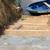 Un escalier pour embarquer et débarquer les marchandises a été créé. © Papaye Cameroun