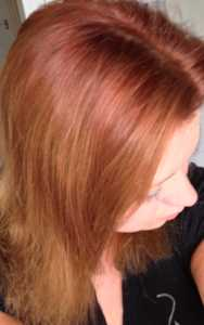 Experiment/Tutorial - Removing Dye From Your Hair Using Vitamin C - hair before