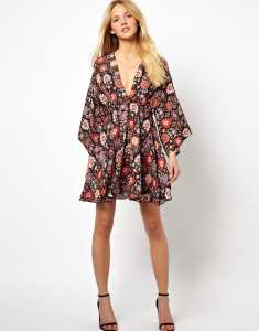 Love Dress With Kimono Sleeve