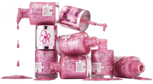 Nails inc Pinkie Pink Breast Cancer Campaign