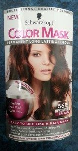 Schwarzkopf Color Mask in Chestnut Brown 568