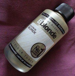 Jerome Russell Bblonde Platinum Blonde Colour Toner