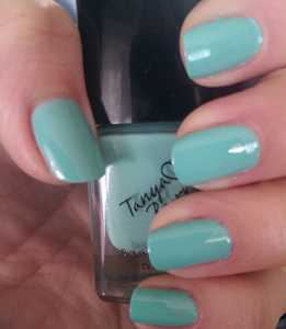 Tanya Burr by eyeCandy Pastel Nail Polishes - Little Duck Swatch
