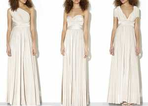 New Look Cream 15-in-1 Maxi Prom Dress