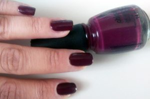 China Glaze Nail Polish in Purr-Fect Plum