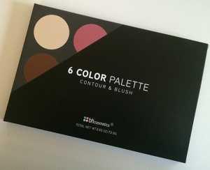 Review/First Impressions: BH Cosmetics 6 Color Palette Contour & Blush