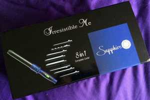 Irresistible Me Sapphire 8 in 1 Complete Curling Wand