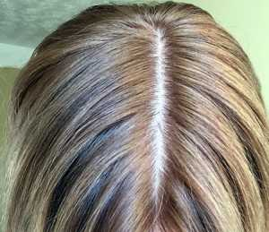 L'Oreal Excellence Creme in 8.1 Natural Ash Blonde - After using product