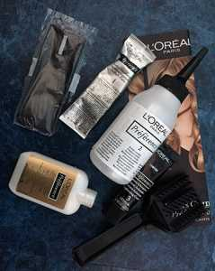 L'Oreal Preference Glam Bronde No.4 Kit contents