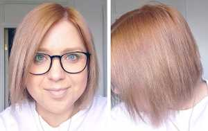 Pro:Voke Hair Colour Remover - After process, freshly dried hair