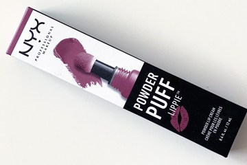 NYX Powder Puff Lippie Powder Lip Cream in Moody
