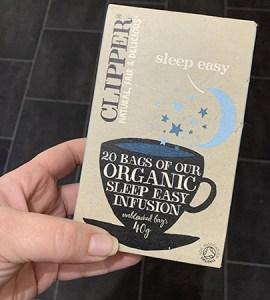 The Keto Diet - Week 2 . Clippers Organic Sleep tea