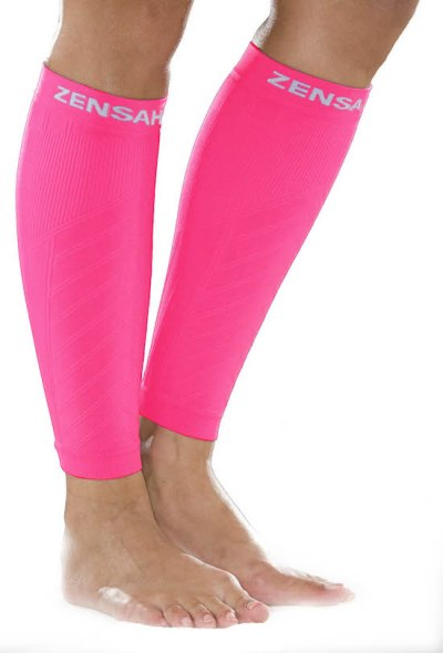 zensah-compression-leg-sleeves-neon-pink