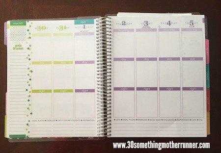 Erin Condren Life Planner Week View