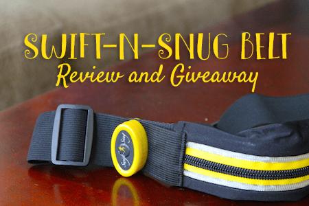 Swift-n-snug running belt review