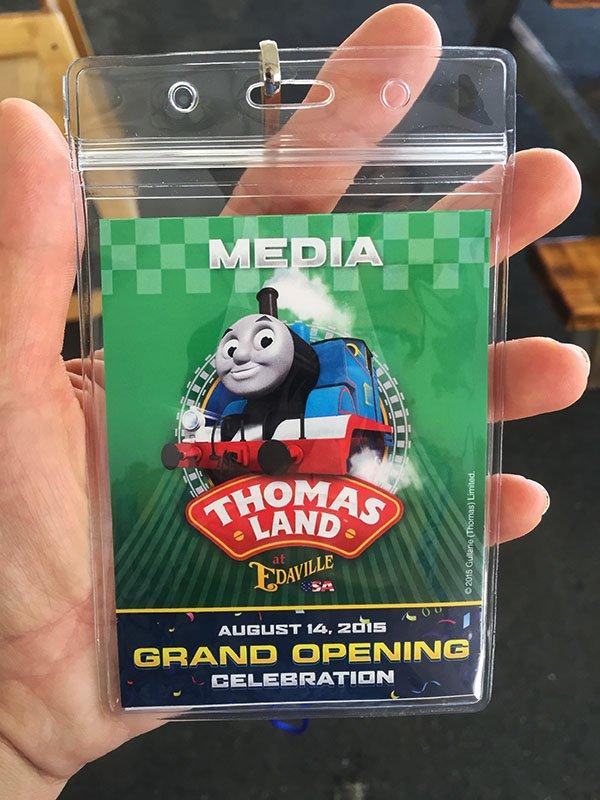 Thomas Land Press Pass