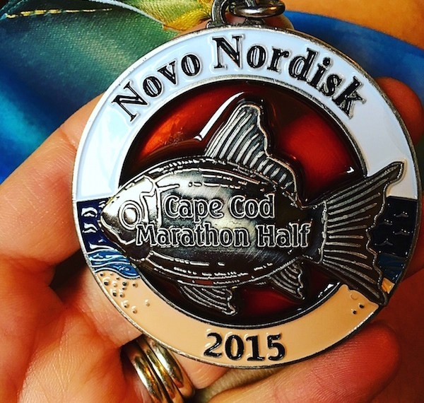 Cape Coid Maraton Half 2015 Medal