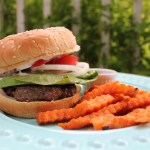 Homemade Ranch Burgers with Southwestern Mayonnaise