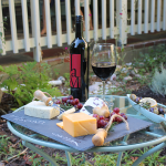 A Late Summer Happy Hour with JaM Cellars Cabernet!